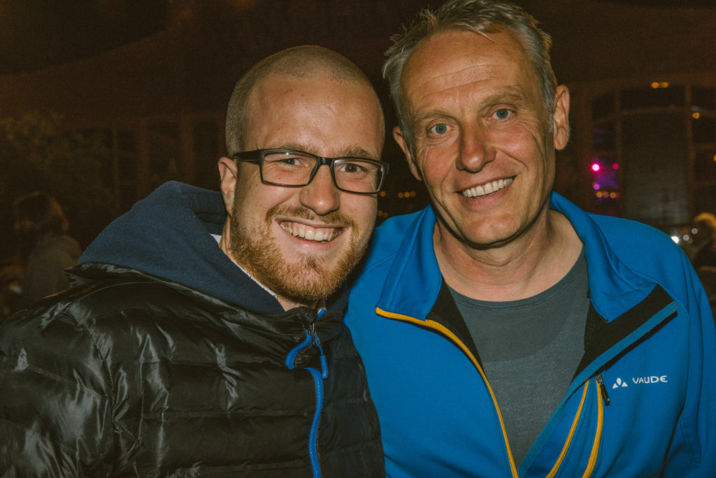 Christian Streich und Fionn Grosse - Foto von Klaus Polkowski