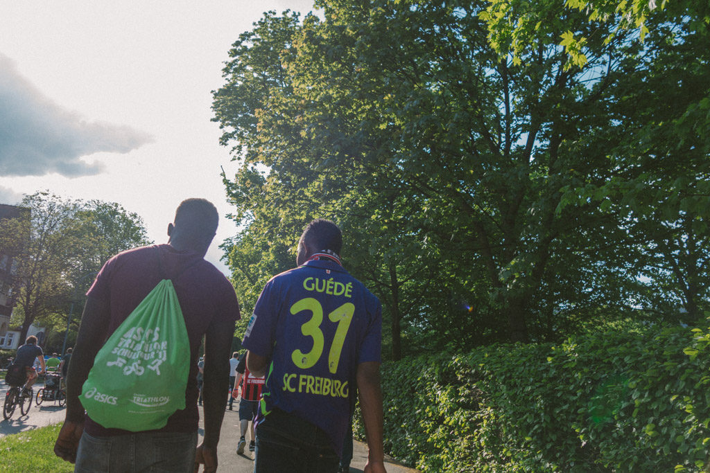Christian Streich mit dem SC Freiburg Meister der 2 Liga