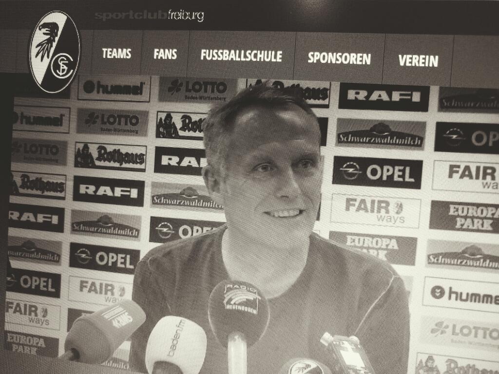 Christian Streich Babelsberg dfb pokal Pressekonferenz