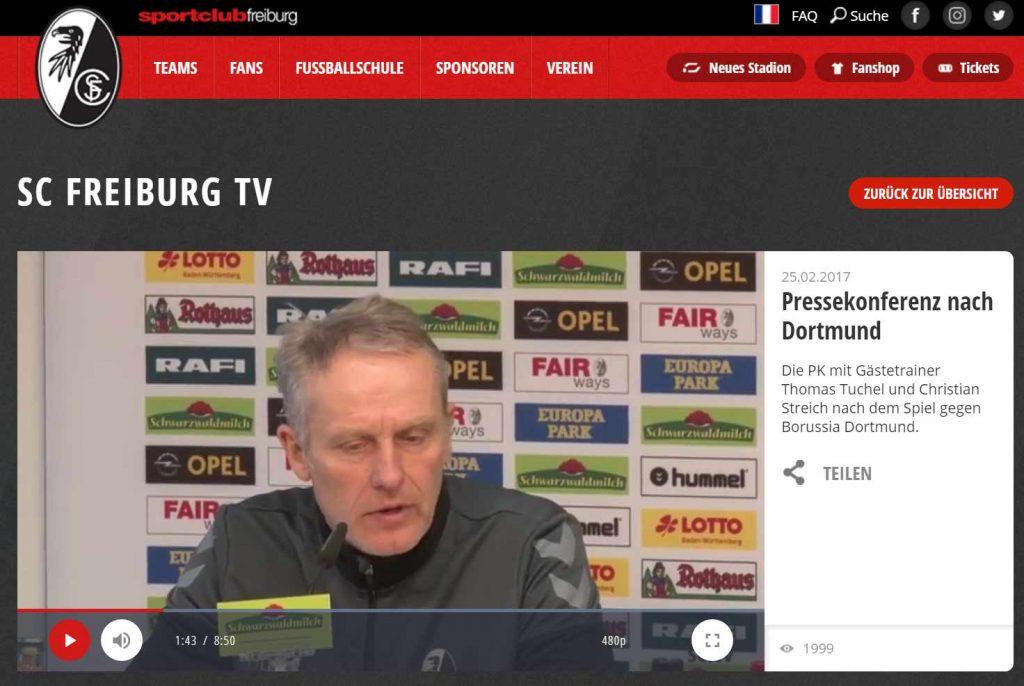 pk-sc-freiburg-vs-bvb-christian-streich